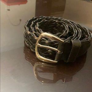 Men's BALLY leather belt